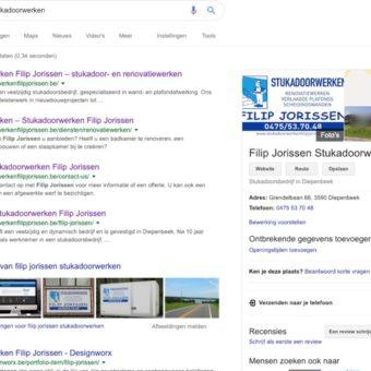 Google bedrijvenpagina | Designworx